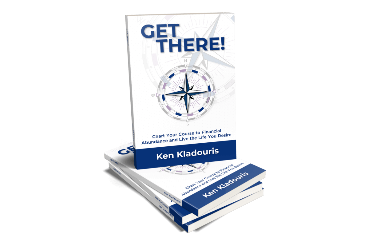 Collection of Get There books by Ken Kladouris